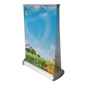 Retractable Table Top Banner E05A6D