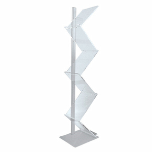 Portable Acrylic Brochure Holder E07B9