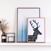 Wooden Texture Painting Holder E09A24M