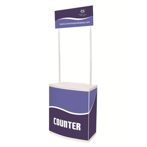Folding Promotional Counter E08P1
