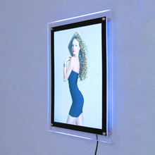 Wall Mount Acrylic Light Box E04B1-1